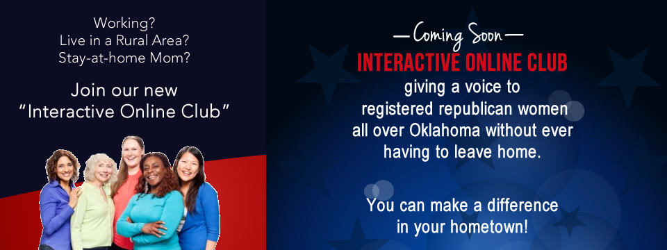 Online Republican Women Club in Oklahoma